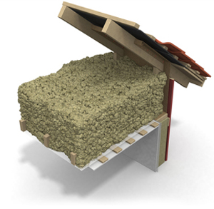 Insulation of attic, BLT
