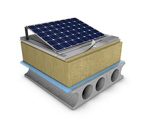 Tak med solceller, solar, rol 60